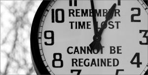 timp pierdut