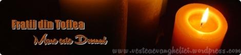 AUDIO: Fratii din Toflea - Mare este Domnul (2013)
