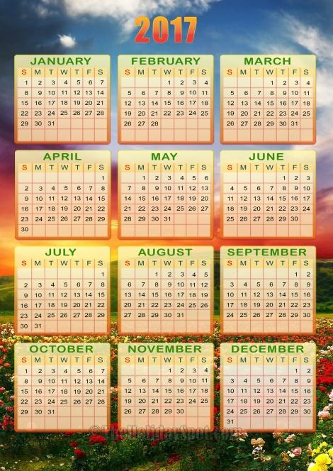 calendar_2017_01