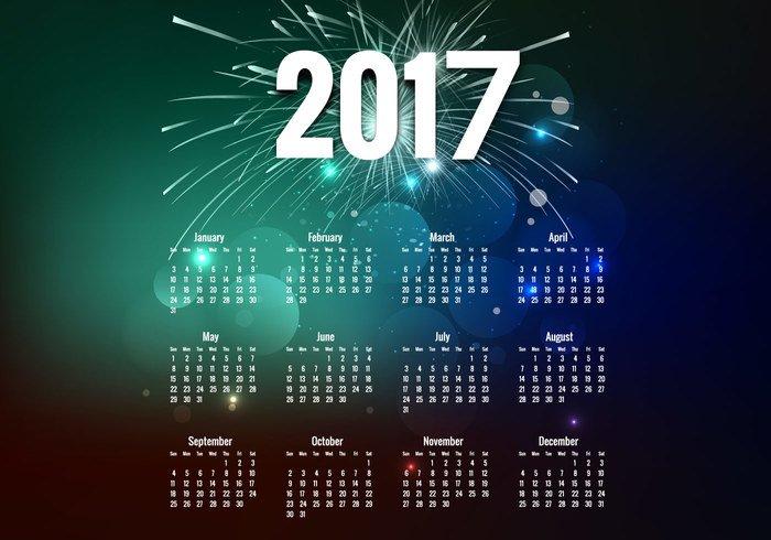 vector-year-2017-calendar